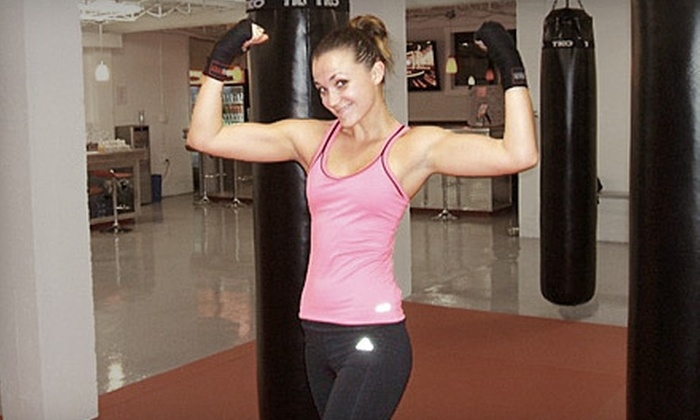Sobekick - Bayshore: 5 or 10 Fitness Classes or One Month of Unlimited Classes at Sobekick (Up to 86% Off)