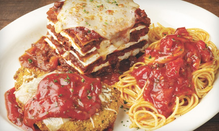 Carino's Italian - Rancho Cucamonga: $12 for $25 Worth of Authentic Italian Fare at Carino's Italian in Rancho Cucamonga