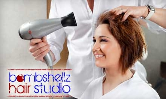 Bombshellz Hair Studio - Newport Beach: $35 for a Haircut, Wash, Condition, and Blow-Dry at Bombshellz Hair Studio