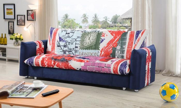 Surprising Great Britain Design Sofa Bed Groupon Goods Cjindustries Chair Design For Home Cjindustriesco