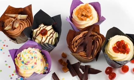 Six Gourmet Cupcakes D Cakes, Two Locations