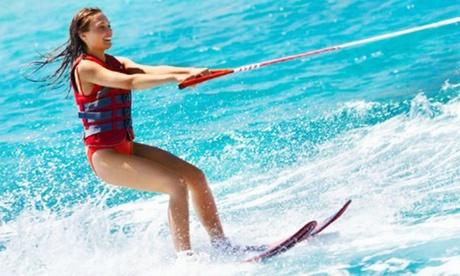 1, 2 o 3 sesiones de ski acuático/wakeboard para 1, 2 o 3 personas en Wakea Experience (hasta 48% de descuento)