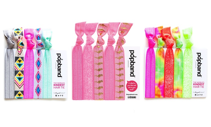 Up To 69% Off Popband Hair Tie Sets  56aa4c3b76d