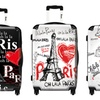 "ikase Travel in Peace Themed 20"" Carry-On Spinner Luggage"