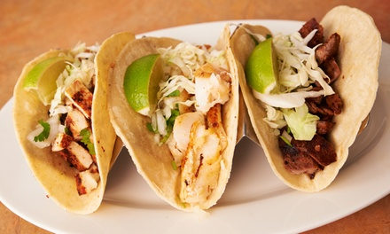 $12 for $20 Worth of Authentic Mexican Food at Mexicali Fresh Mex Grill
