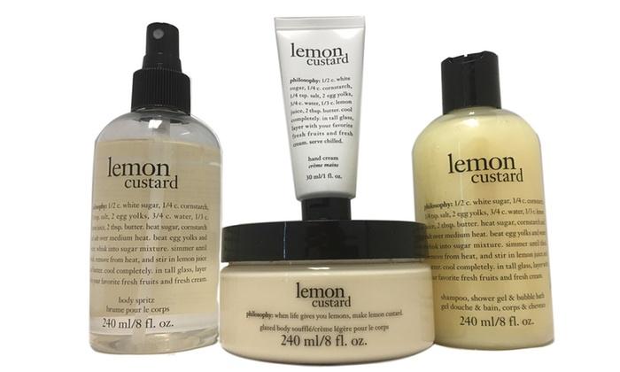 Up To 48 Off On Philosophy Lemon Bath Set