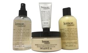 Philosophy Lemon Custard Bath Set (4-Piece)