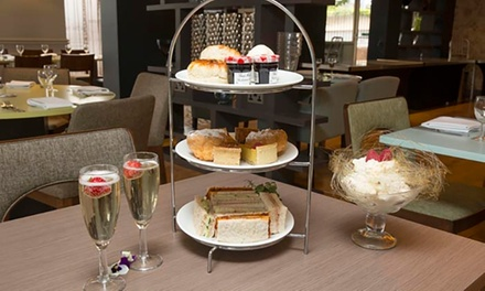 Afternoon Tea for Two or Four with Optional Prosecco at Hilton Newbury North Hotel (Up to 32% Off)
