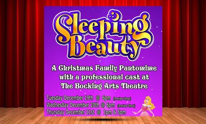 image for Sleeping Beauty - A Christmas Family Pantomime on 19-21 December at The Bocking Arts Theatre (Up to 38% Off)