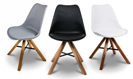 2, 4 o 6 sillas de diseño escandinavo