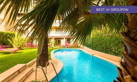 Cannes: 1 à 3 nuits avec petit déjeuner, remise sur les modelages et champagne en option à l'hôtel Sun Riviera 4* pour 2