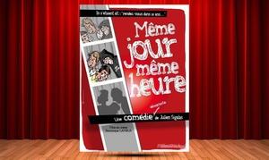 """comedie des suds: 2 places pour le spectacle """"Même jour même heure"""" à 20 € à la Comédie des Suds"""