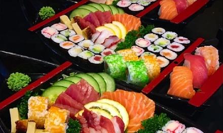 Menu en 2 services avec mini nems et bateau de sushis chez Taisho à Anvers (dès 2 pers.)