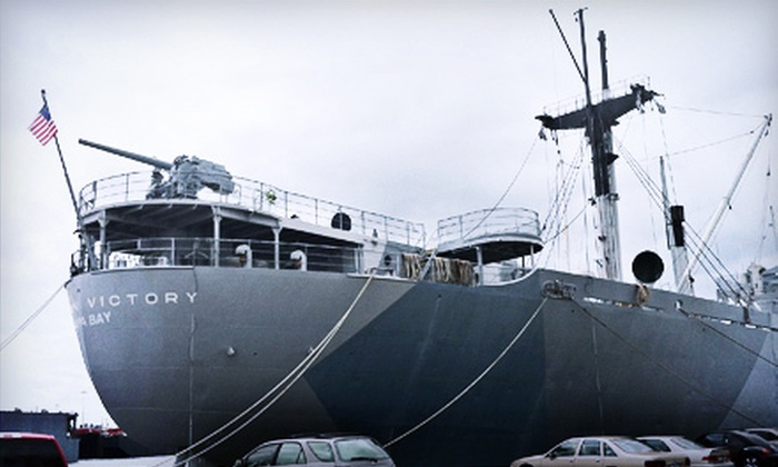 American Victory Ship Mariners Memorial Museum - Channel District: American Victory Ship Mariners Memorial Museum Visit for Two or One-Year Companion or Family Membership (Up to 51% Off)