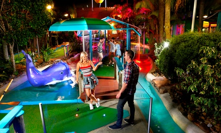 18 Holes of Mini Golf for One ($10), Two ($20) or Four People ($39) at Putt Putt Mermaid Beach (Up to $76 Value)