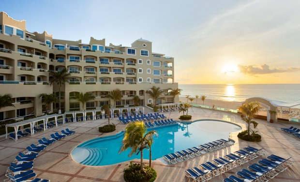 TripAlertz wants you to check out ✈ 6- or 7-Night Gran Caribe Resort Stay with Nonstop Airfare. Price per Person Based on Double Occupancy.  ✈ Gran Caribe Resort Stay with Nonstop Air from Vacation Express - All-Inclusive Cancún Vacation