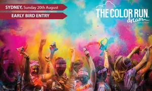 THE COLOR RUN: The Color Run™ Dream Tour - Early Bird Entry for $38 (Plus Booking Fee), 20 August, Centennial Park