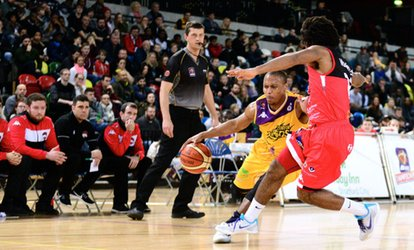 image for London Lions Basketball: Premium or Family Ticket to a Choice of Match at The Copper Box Arena (Up to 58% Off)