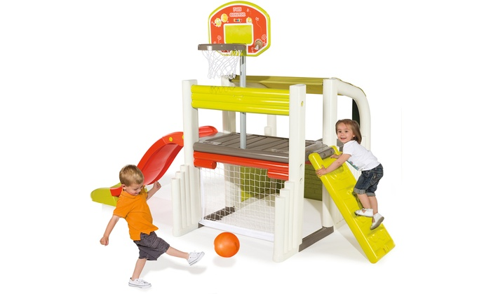 smoby fun centre playhouse groupon goods. Black Bedroom Furniture Sets. Home Design Ideas