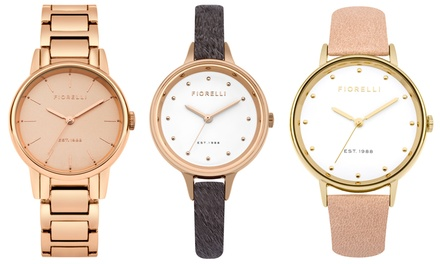 Fiorelli Womens Watch in Choice of Design