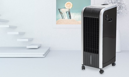 Refroidisseur dair 5 en 1 JRD avec fonction déshumidificateur, anti moustiques, ventilation et chauffage, coloris noir