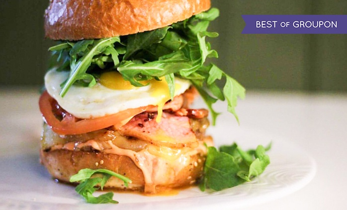 Any Two Gourmet Burgers and Any Two Sides at BóBó's (Up to 54% Off)