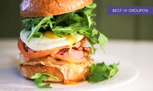 BóBó's Burgers: Any Two Gourmet Burgers and Any Two Sides at BóBó's (Up to 54% Off)