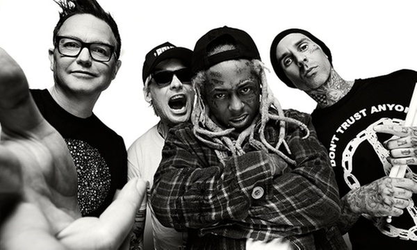 blink-182 and Lil Wayne on September 10 at 7 p m