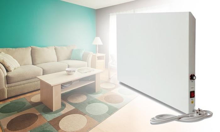 """אידה תעשיות נייר 2011 בע""""מ - Merchandising (IL): רדיאטור קיר 550W/750W בטיחותי, בעל צריכת חשמל נמוכה ואורך חיים ארוך במיוחד"""