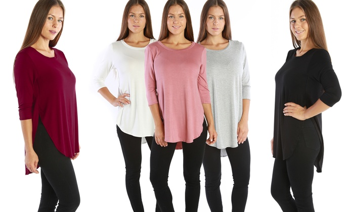 Nelly Women's 3/4 Sleeve Tunic