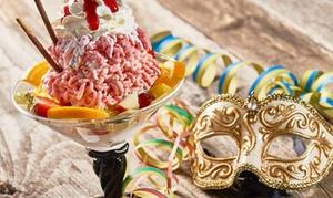 Tiziano Holding: Deluxe-Eisbecher nach Wahl inkl. je 1 Getränk für 2, 3 oder 4Personen bei Tiziano Holding (bis zu 46% sparen*)