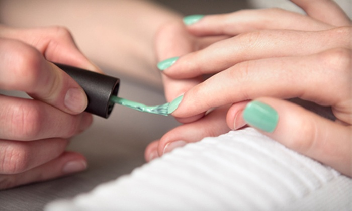 Coterie Purlieu - Downtown: One or Three Shellac Pedicures at Coterie Purlieu (Half Off)