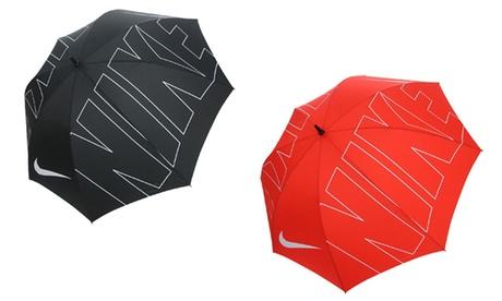 "Nike Windproof 62"" Single-Canopy Golf Umbrella 9f751644-6669-11e7-96d5-002590604002"