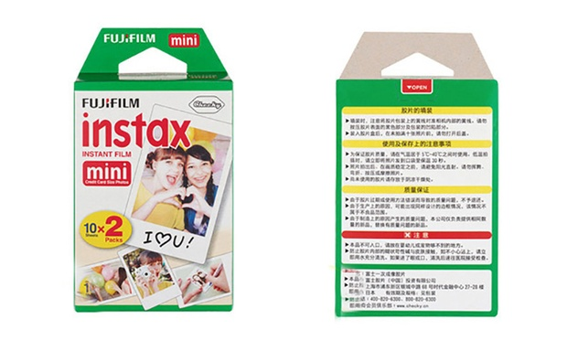 $39.95 for a 40 Pack of Fujifilm Instax Mini Instant Film Bundle
