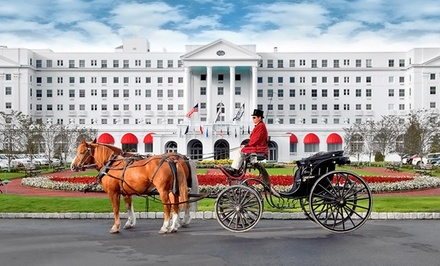 Stay at The Greenbrier in White Sulphur Springs, WV. Dates into March.
