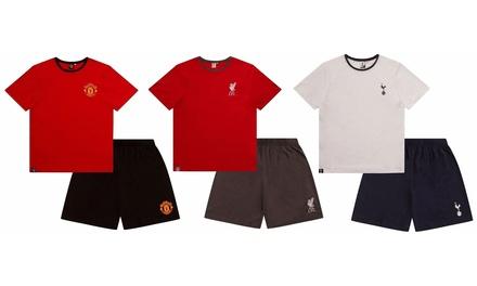 Mens Football Short Pyjama Set