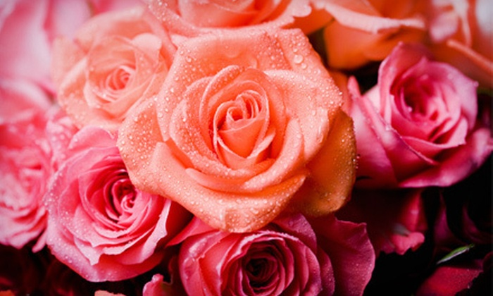 Rose Bowl Florists & Gift Shop: Floral Arrangements at Rose Bowl Florists & Gift Shop (Half Off). Two Options Available.