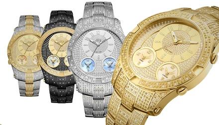 HombreEspaña Con Diamantes Genuinos Comentarios Para Jbw Reloj Y j3Aq4RcL5S