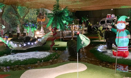 Christmas Jungle Creek Adventure Golf, Soft Play and Children's Meal Deal 50%Off