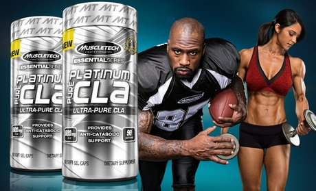 Muscletech Essential Series Pure CLA Supplements (90-Count)