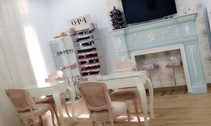 Victorian Rose Beauty and Spa Center: Classical, French or Gel Mani-Pedi with Optional Spa Treatment at Victorian Rose Beauty and Spa Center (Up to 60% Off)