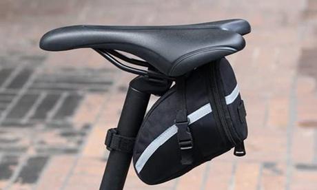 1x oder 2x Fahrradtasche in Schwarz