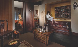Chi, The Spa, Shangri La : Manicure and Pedicure with Afternoon Tea and Beach Access for Two at Chi, The Spa, Shangri-La (Up to 67% Off)