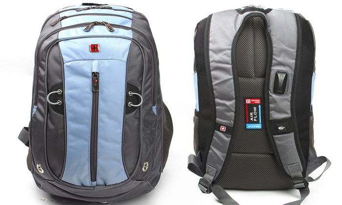 Up To 63% Off Swisswin Sports Bag or Backpack  437c7a7465fa1