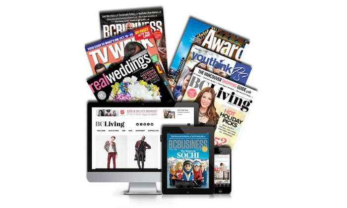 """BCBusiness"" magazine: $15 for a One-Year Print and Digital Subscription to ""BCBusiness"" Magazine ($29.95 Value)"