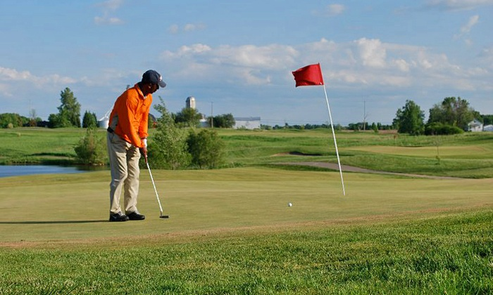 Copper Ridge Golf Club - Davison: $50 for Round of Golf for Two with Range Balls and Lunch at Copper Ridge Golf Club (Up to $100 Value)