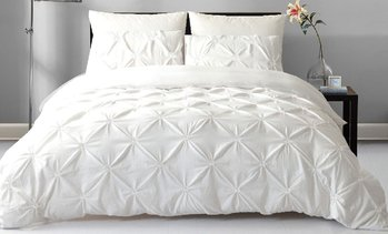 Diamond Pintuck Quilt Cover Set