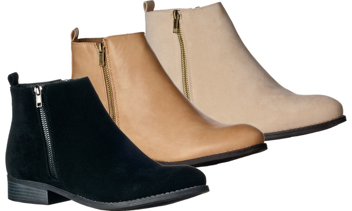22503a8e5c9 Up To 42% Off on Riverberry Women's Ankle Boots | Groupon Goods