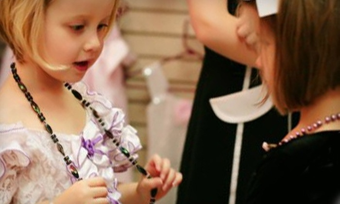 Chelsea's Tea Room & Boutique - Southwest Arlington: $12 for a Princess Dress-Up Tea Experience at Chelsea's Tea Room & Boutique in Arlington ($24.99 Value)