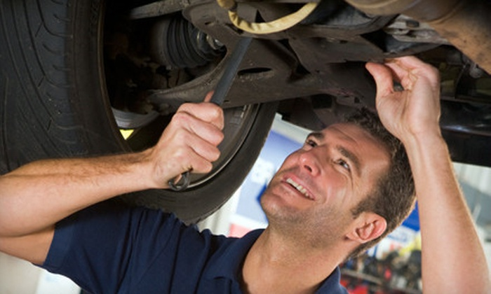 Colony Tire - Multiple Locations: $25 for $50 Worth of Auto-Maintenance Services at Colony Tire